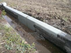 水利施設整備事業・水路改修工事