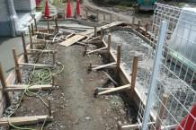 コンクリート アプローチ 型枠 (2)