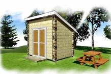 モルタル造形物置・木製物置・カスタマイズ