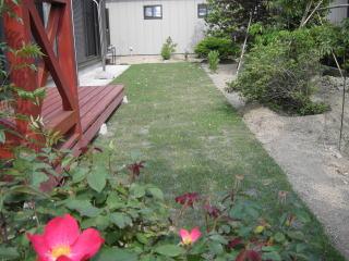 お庭の張り芝
