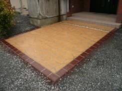 マルチフロークリートの縁石