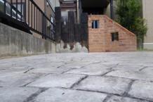 スタンプコンクリート フレンチファン
