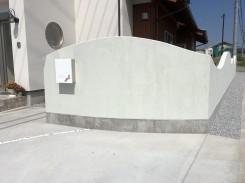 塗り壁のウォール
