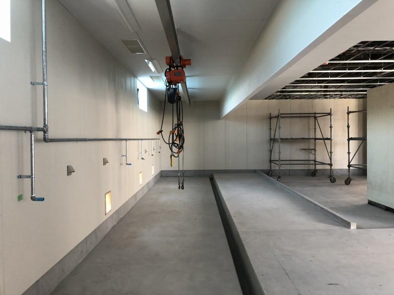 ホイスト(天井クレーン)設置
