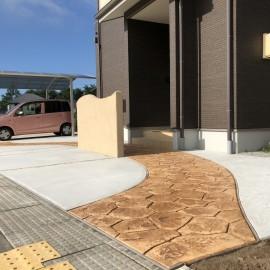スタンプコンクリート新製品