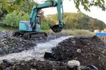 石突川災害復旧