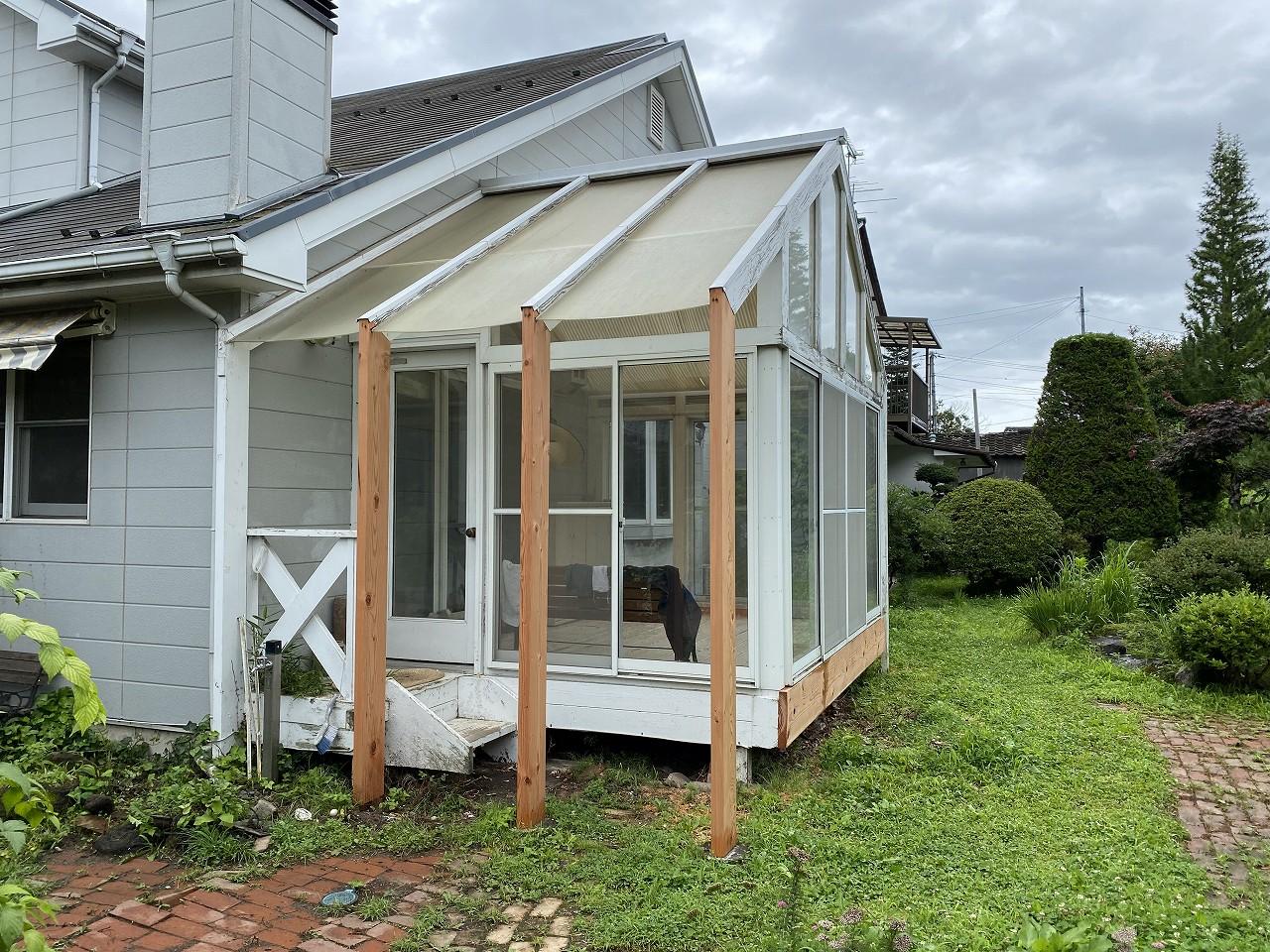 ガーデンルームのリフォーム
