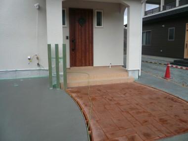 スタンプコンクリート・アシュラスレート・テラコッタ