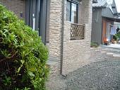 庭周りのスタンプウォール9