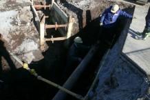 排水管移設工事 01