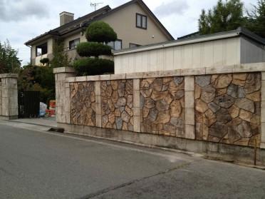 古くなったブロック塀をデザイナーズウォールへ!施工後