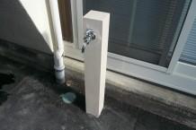 外水栓 LIXIL 120角柱カバー仕様